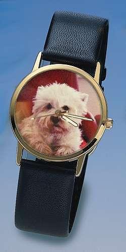 Uhren nach Ihrem Hunde Foto