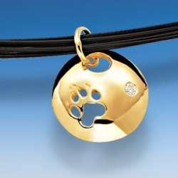 Hundepfoten Schmuck in Gold und Silber