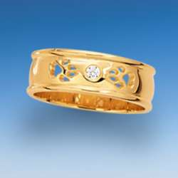 Elegante Ringe mit Hundepfoten