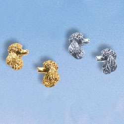 Tiermotivschmuck Pudel in Gold und Silber