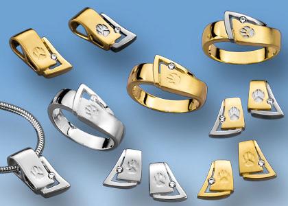Neue Ringe mit Hundepfötchen