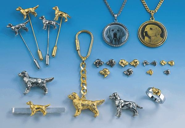 Hundeschmuck Rasse Golden Retriever